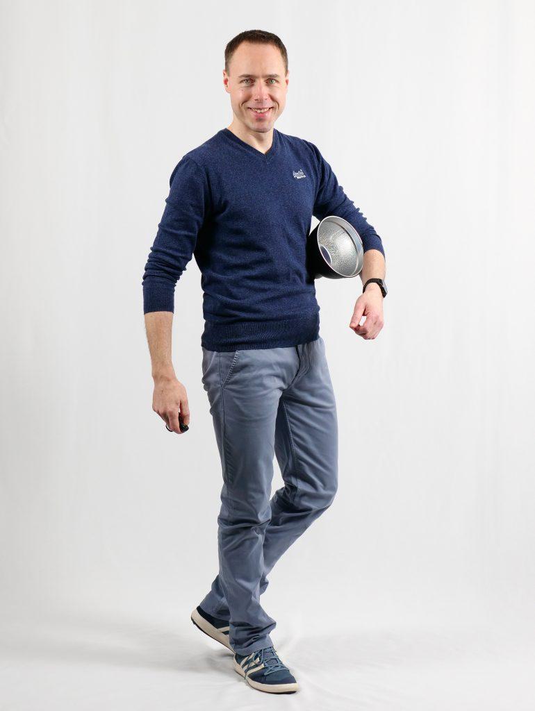 Dirk mit Lampenschirm